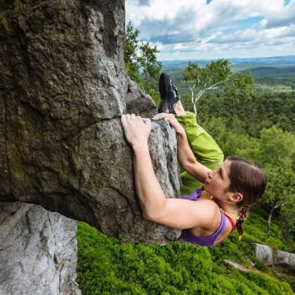 A picture by Anna W for Gore-Tex® - Climb with David Lama
