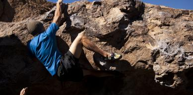 A picture from Happy Boulders by island climbing