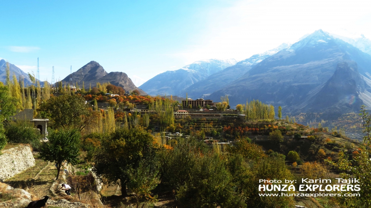A picture from Hunza Valley by Hunza Explorers