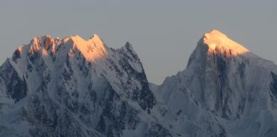 A picture from Karakoram Range by Hunza Explorers