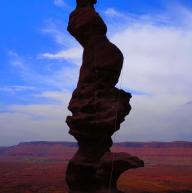 Ancient Art, Fisher Towers, Moab, UT by Olivier Zintz