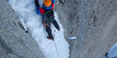 A picture from Aiguille verte by Jon Griffith