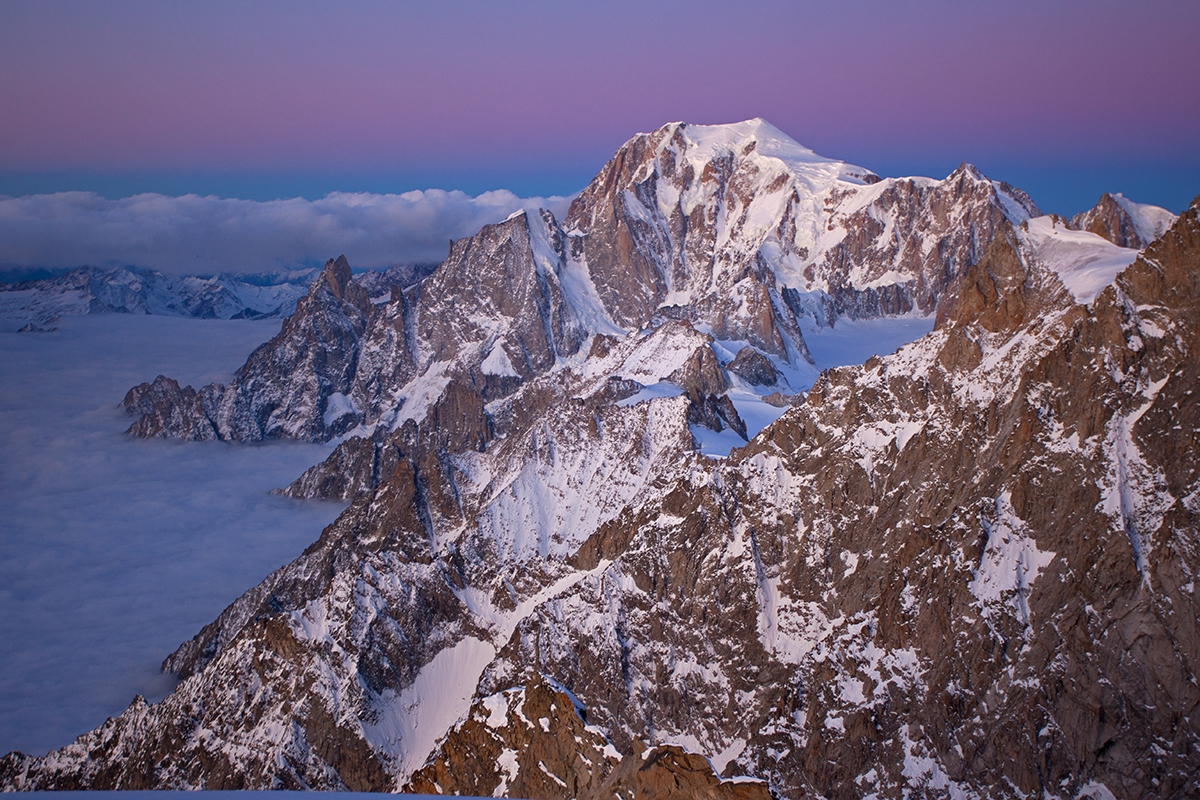A picture from Grandes Jorasses by Jon Griffith