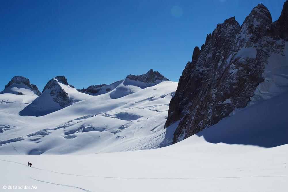 A picture from Mont Blanc du Tacul by adidas Outdoor