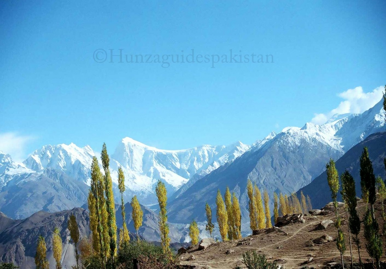A picture from Hunza Valley by Hunza Guides
