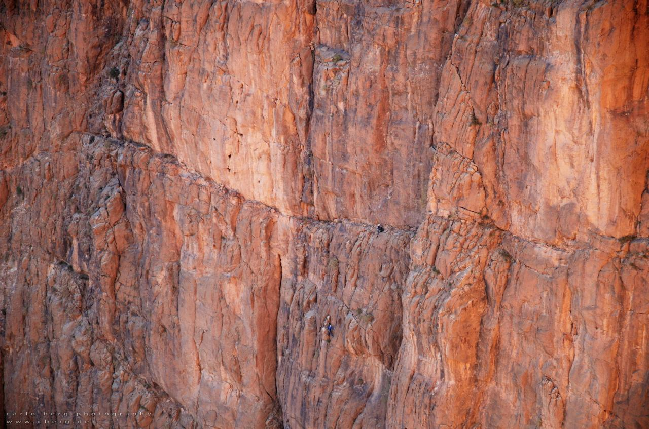 A picture from Todra Gorge by Carlo Berg