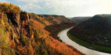 A picture from Labské údolí by Štěpánka Nosková
