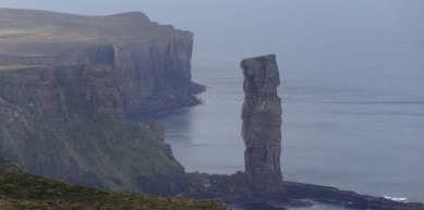 A picture from Old Man of Hoy by Johanna Lamm