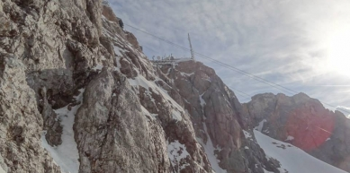 A picture from Zugspitze by Nils Arlt