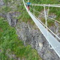 Via Ferrata Loen by Kristian Monsen