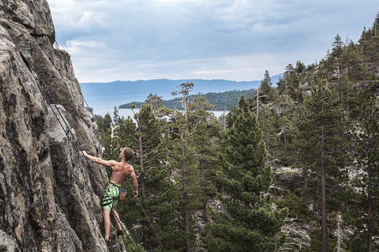 A picture from Tahoe lake by Gustav Sandegard