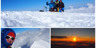 A picture from Mont Blanc / Monte Bianco by Michi Wohlleben