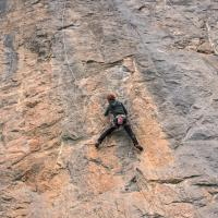 Chemin du Roy, Hot Spot, 8a. by Vera Cominelli