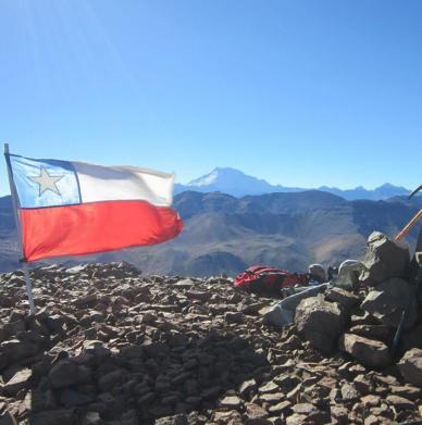 Cerro Punta de Guanacos by Nicolás Pizarro Villarroel