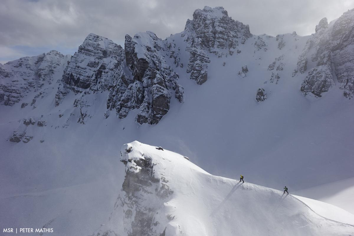 A picture from Stubai Alps by MSR / Mountain Safety Research