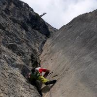 Drachenwand Klettersteig St Lorenz Mondsee by Andreas Hausjell