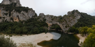 A picture from Pont d\' Arc by berg. steirer