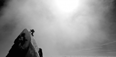A picture from Mont Blanc / Monte Bianco by Kivik Francois