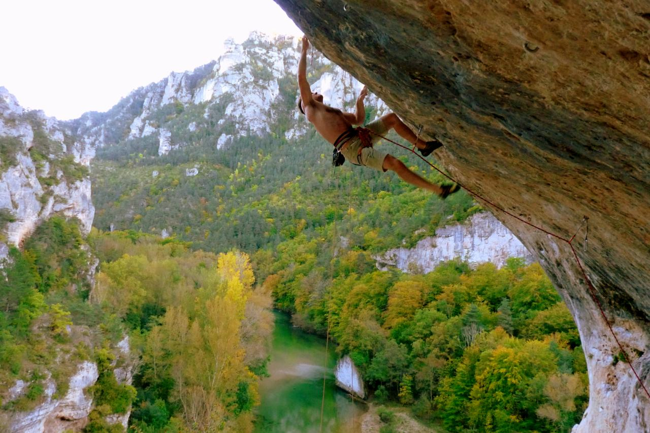 A picture from Gorges du Tarn by Audrey Ch