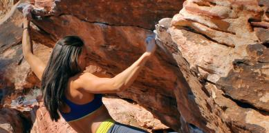 A picture from Kraft Boulders by Natalie Duran