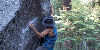 A picture from Cathedral Boulders, CA by Remi Thiebault