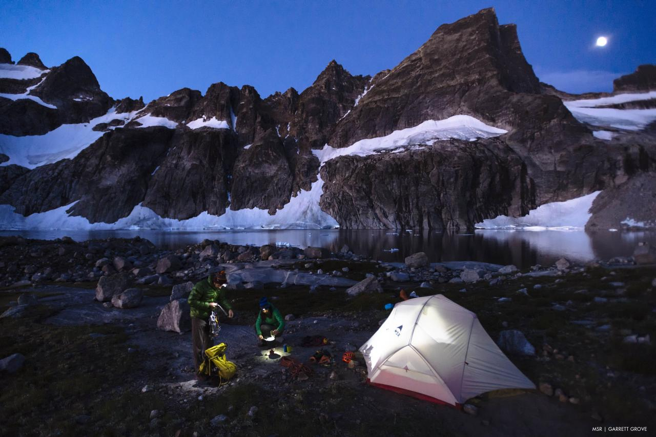 A picture from Bugaboos by MSR / Mountain Safety Research