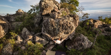 A picture from Pedra Rachada by Bruno Graciano