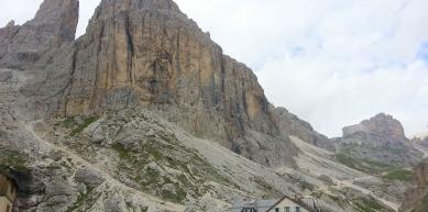 A picture from Catinaccio, Trentino-Alto Adige, Italy by Letizia Antonielli