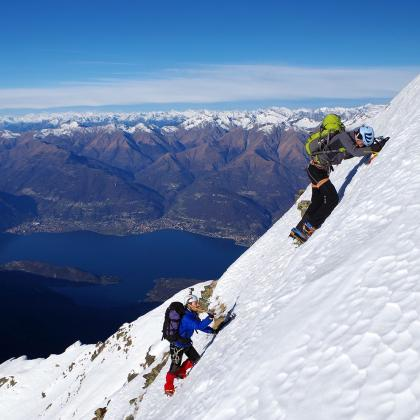 Monte Legnone by Andrea Bottani