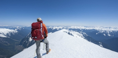 A picture from North Cascades, WA by MSR / Mountain Safety Research