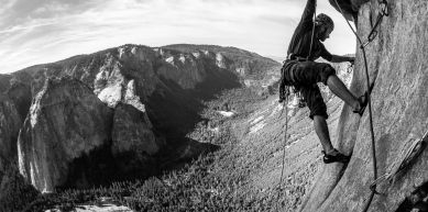 A picture from El Capitan by Maxim Ropes