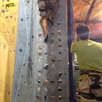 U Rock Climbing by Kenny Daou
