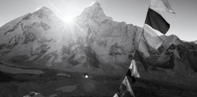 A picture from Everest Region by Black Diamond