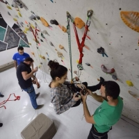 Rock Tirana Climbing Gym by Dan Hillman