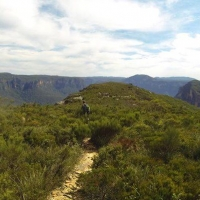 Blue Mountains by The Captain Brien