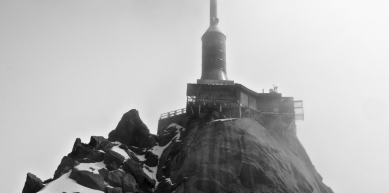 A picture from Chamonix by Björn Pohl