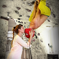 A picture from Mountex Boulder Club by Péter Lorschy