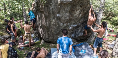 A picture from Martassina Boulder Meeting 2015 by Fabio Fin