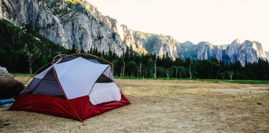 A picture from Yosemite by MSR / Mountain Safety Research
