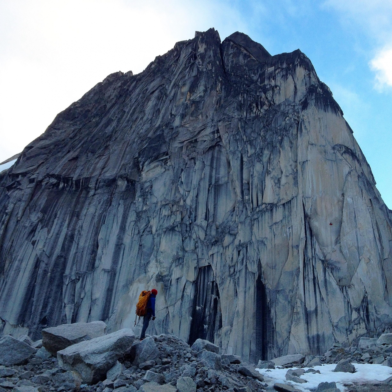 A picture from Bugaboos by Maxim Ropes