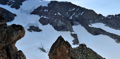 A picture from Mont Blanc du Tacul by Scarpa