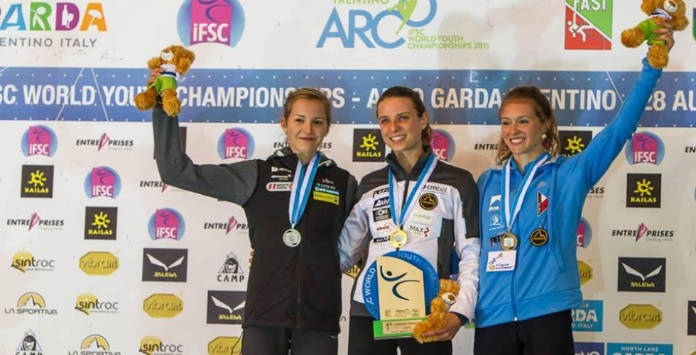 Belgium on the top in World Youth Championship 2015! in Arco di Trento