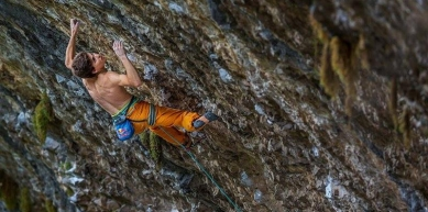 A picture from boulder massone by Scarpa