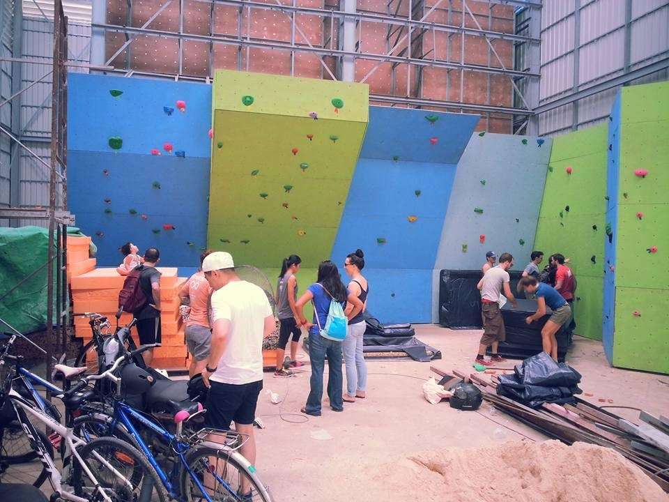 A picture from Phnom Penh Climbing Gym by Phnom Climb - Community Gym