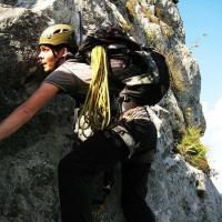 Drachenwand Klettersteig St Lorenz Mondsee by Nils Arlt