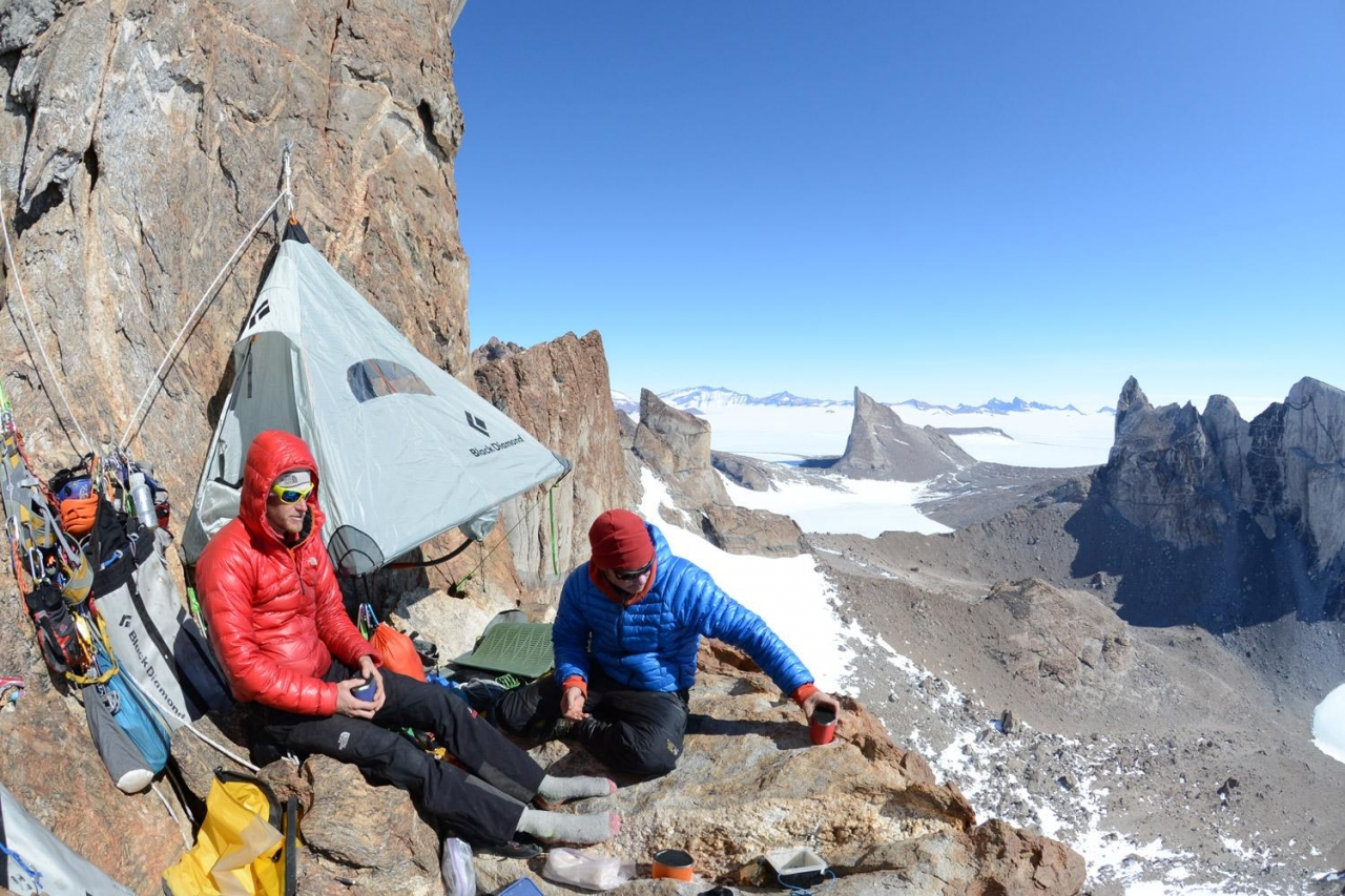 A picture from Greenland by MSR / Mountain Safety Research