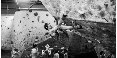 A picture from North Austin Rock Gym (NARG) by Stephen Kirk