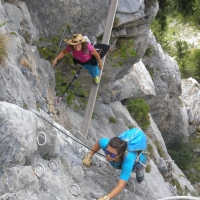 Passy Via Ferrata by Andrea Sabbadin