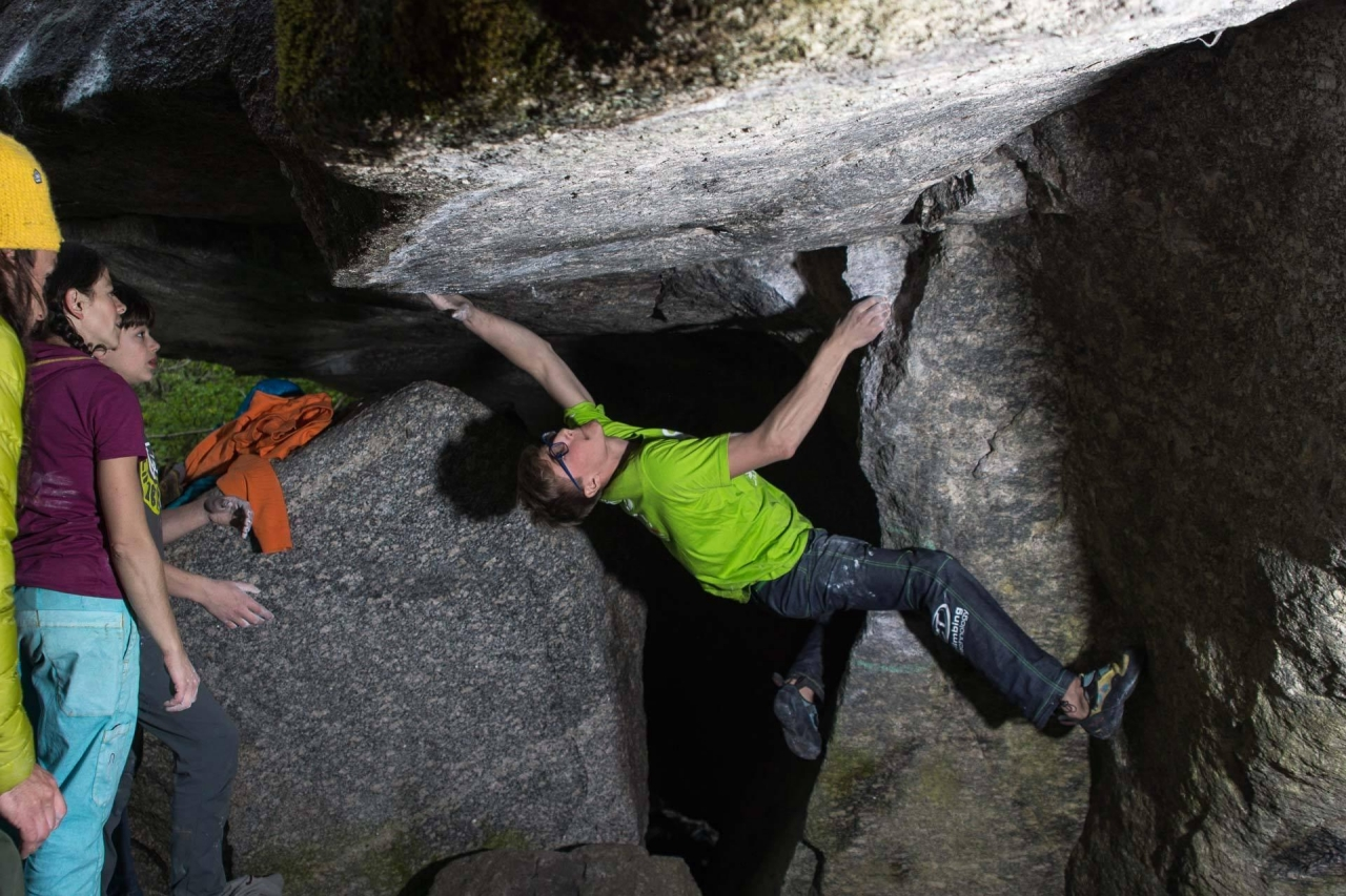 A picture from Melloblocco 2015 by Climbing Technology