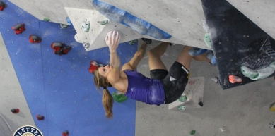 A picture from E4 Kletterhalle by Dirk Uhlig